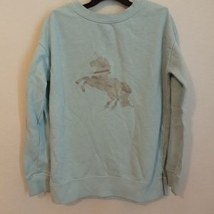 Unicorn sweatshirt 6/6x
